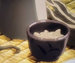 anime, cup, and nuts image