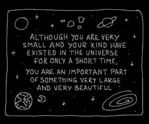 quotes, black, and universe image