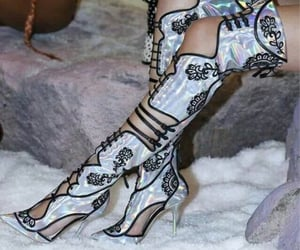 boots, Couture, and heels image