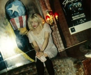 alt, Courtney Love, and goth image
