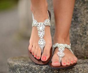 awesome, feet, and silver image