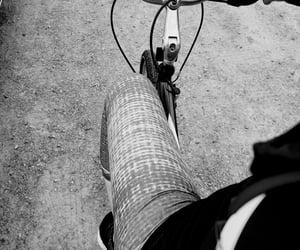 bike, fitness, and leggings image