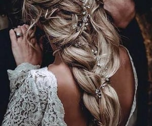 bohemian, wedding, and accesories image