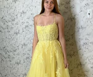 prom dress, prom gown, and prom wear image