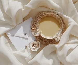 white and coffee image