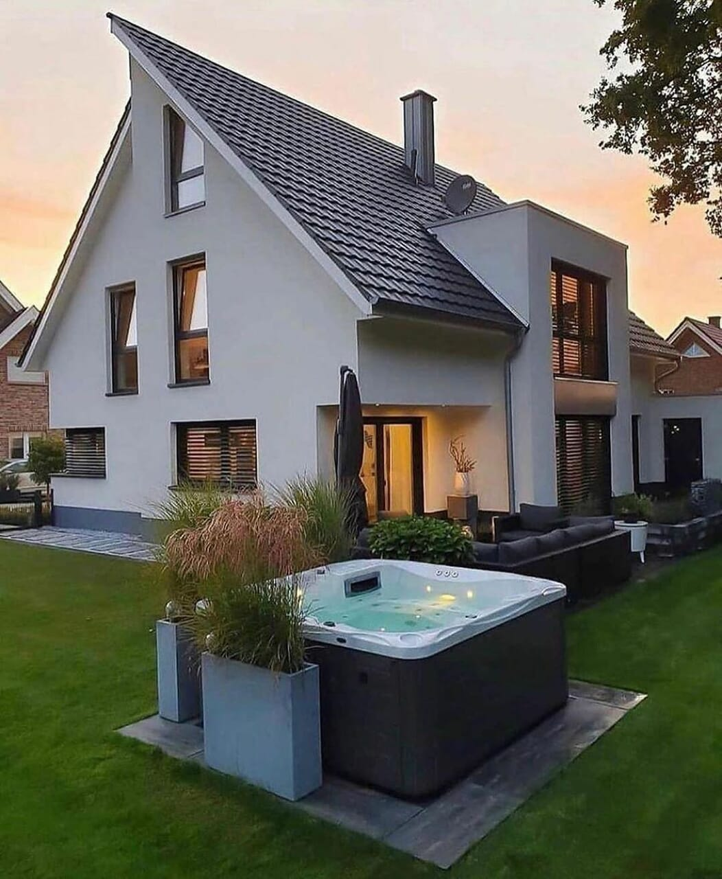 home, house, and style image