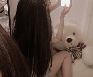 aesthetic, teddybear, and soft image