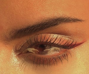 aesthetic, eye, and eyebrow image