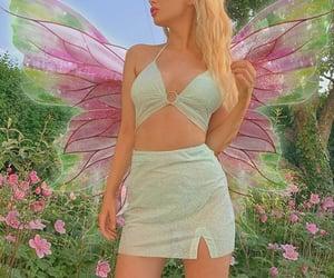 beautiful, girl, and magic image