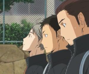 anime, koshi sugawara, and haikyu!! image