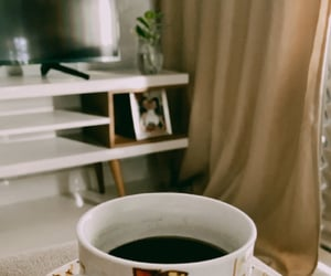 coffe, home, and inspiration image