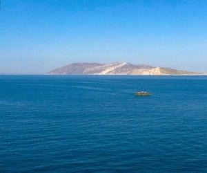 Bleu, blue, and Greece image
