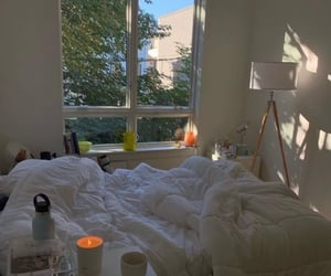 apartment, candle, and light image