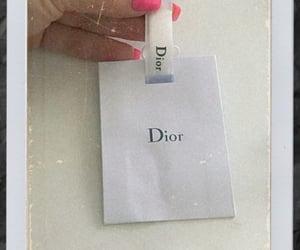 dior, dior gift, and nails image