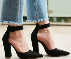 fashion, pumps, and cute heels image