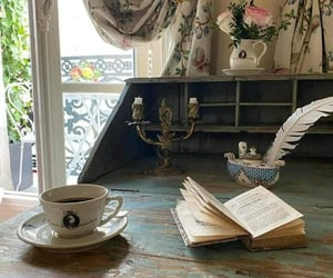 aesthetic, bibliophile, and book image