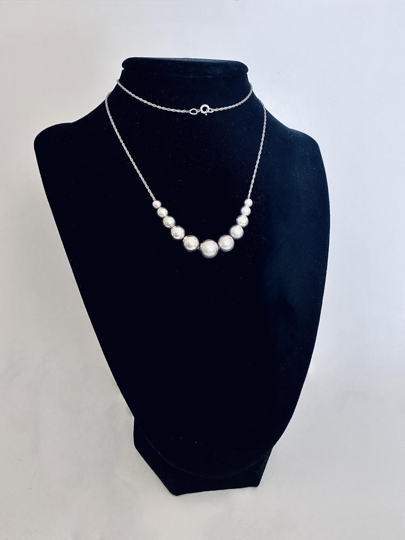 beaded necklace, etsy, and boho chic image