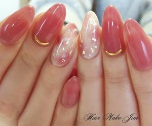 idea, nails, and pink image
