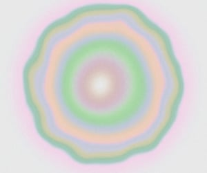 green, aura, and pink image