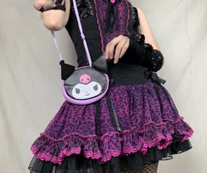 gothic, lace, and punk image
