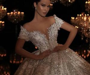moda, vestido, and casamento image