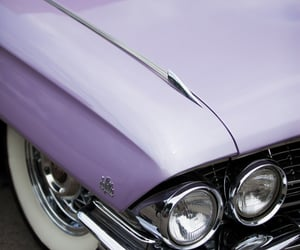 lilac, cars, and purple image