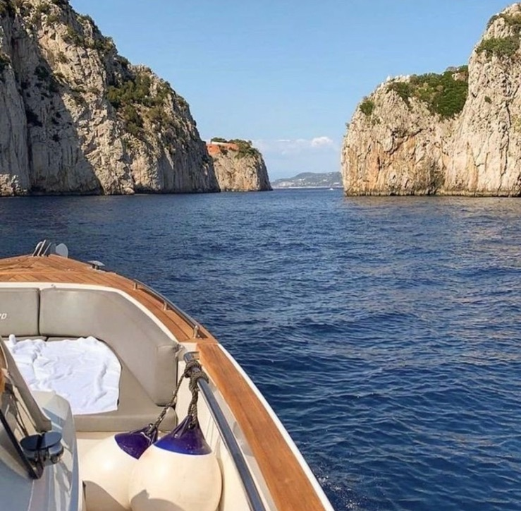 sea, boat, and travel image