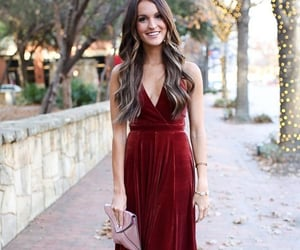 fashion, dresses, and evening gown image