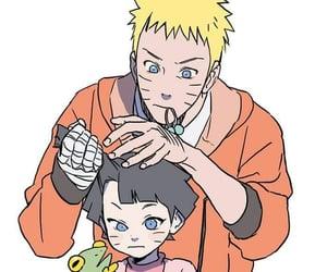 anime, uzumaki, and himawari image