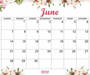 Cute June 2021 Calendar Desktop Wallpaper