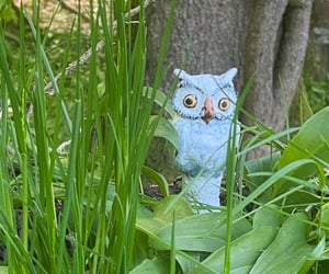 forest, handcraft, and owls image
