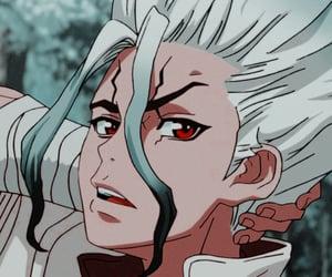 dr stone, anime, and anime boy image