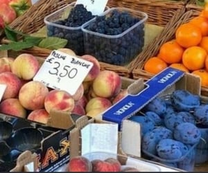 blueberry, place, and shopping image