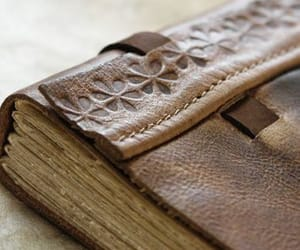 journal and leather image