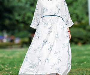 prom dress, womens robe, and linen maxi dress image