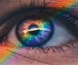 arcoiris, inspiracion, and mirada image