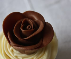 roses, cakes, and chocolate image