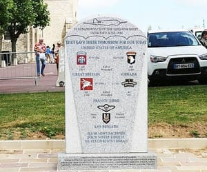 france, monument, and normandy image