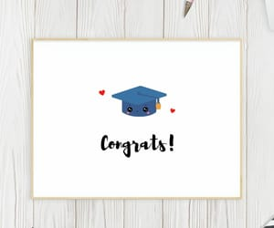 congratulations, greeting cards, and graduation gift image