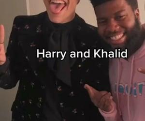 random, Harry Styles, and khalid image