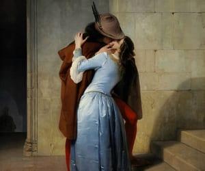 art, couple, and romance image