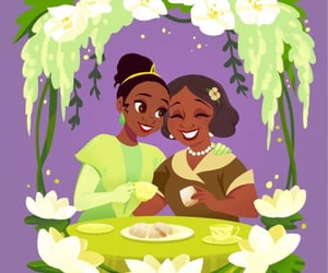 background, disney, and the Princess and the frog image