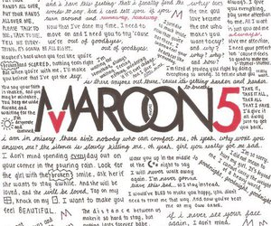 maroon 5, music, and maroon5 image