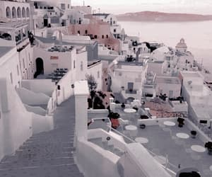 travel, white, and Greece image