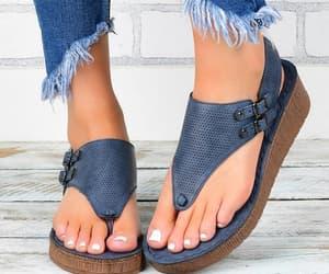 chic, elegant, and sandals image