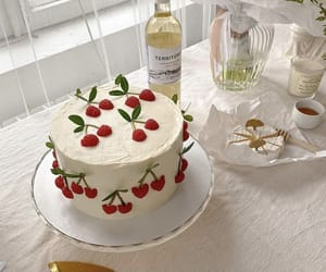 cake, fashion, and flowers image