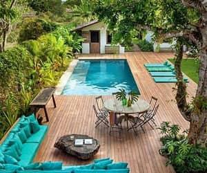 jardim, piscina, and quintal image