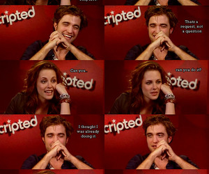 kristen stewart, Robsten, and sexy face image