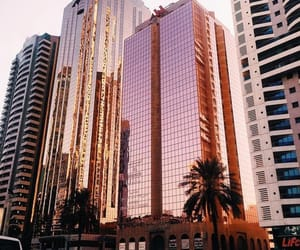 city, building, and rose gold image