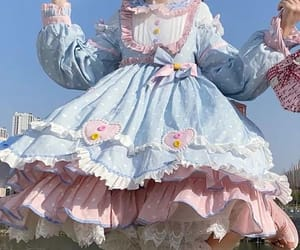 aesthetic, lolita dress, and cute image